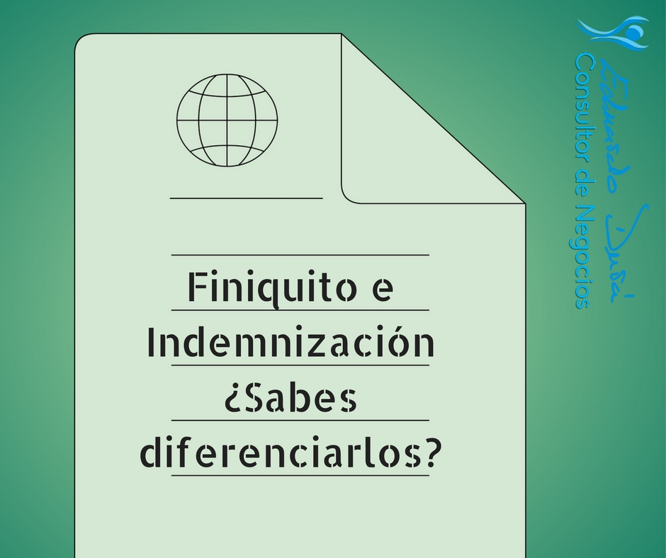 finiquitos e indemnizaciones