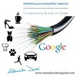Marketing para pequeños negocios. La importancia de estar en Google.