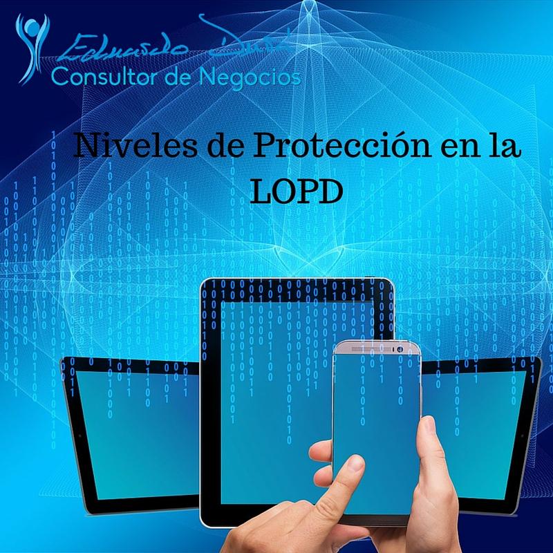 Niveles de Protección en la LOPD