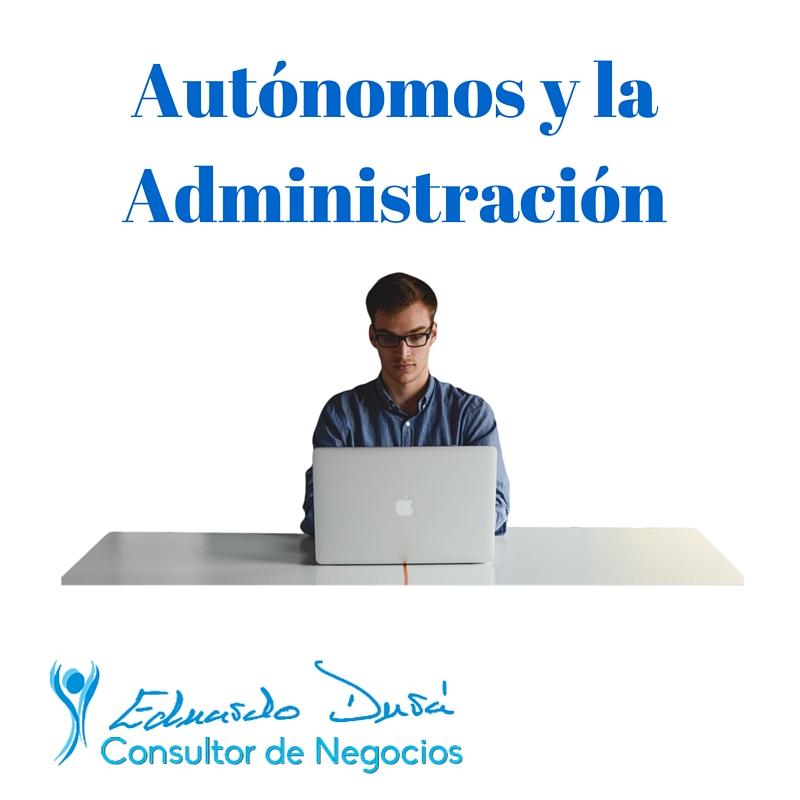 Autonomos y la Administracion