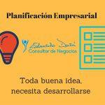 Planificación empresarial. El primer paso