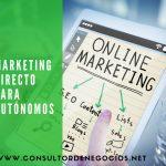 Marketing Directo para autónomos.