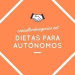 Deducciones en las dietas para autónomos
